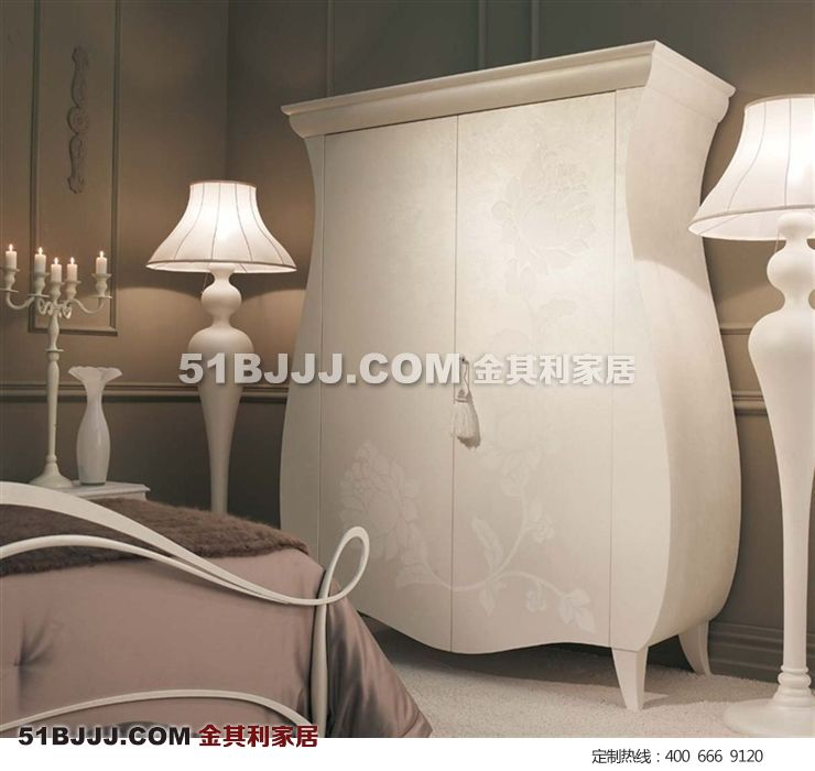 卧室衣柜,新古典衣柜